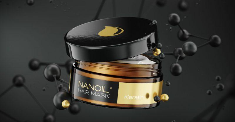 máscaras eficazes com queratina Nanoil